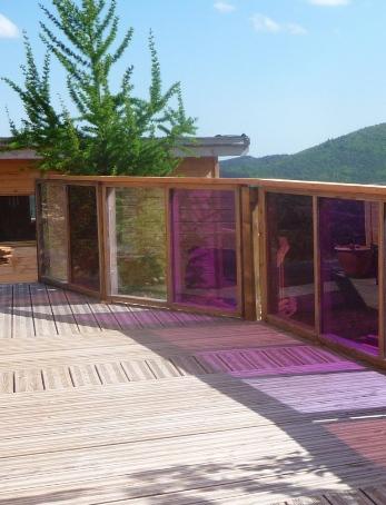 Cabane spa sauna